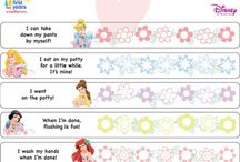 Potty Training Chart / by Julie Moritz