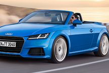 Audi TT Roadster / The new reveal of the Audi TT roadster / by AutoTrader.co.uk