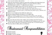 Being a Bridesmaid / by Danielle Hilliard