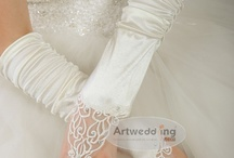 Artwedding Bridal Gloves  / Wedding Gloves Big Sale! There are a variety of Bridal Gloves with Low Price! Free Shipping, Top Fabric and Best Work! We fulfill your upmost satisfactory! / by ArtWeddings.com
