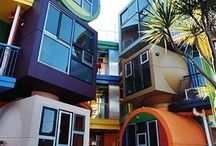 Unusual Homes & Bldgs / Odd & unusual structures / by Dutch Bros. Garage