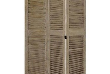 What Am I Going To Do With the old louvered doors I scrounged from my neighbors / by Kathy Marks