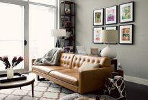 Living Room / by Krystle / CraftyHabit