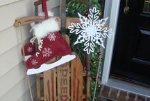 Christmas outside / by Stephanie