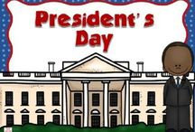 School--Presidents' Day / by Kitty McComas