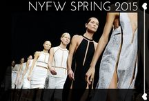 NYFW Spring 2015 / by Glam