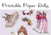paper dolls / by Elisabeth Doherty