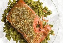 """""""TQI"""" seafood dishes / by Lynn Johanson"""