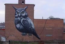 Street Art / Straatcultuur binnen en buiten de provincie / by Jeugddienst Vlaams-Brabant
