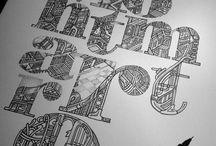 Typography / by Alex Dacks