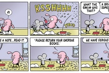 Library Comics & Humor / by Sioux Center Public Library