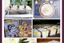 "Summer Send-Off / Celebrate the unofficial end to summer this Labor Day with an ""all-white"" party or weekend getaway! Check out some of our décor and recipe ideas perfect for sending summer out in style. #TuesdayMorning / by Tuesday Morning"