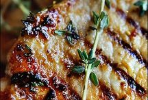 food- pork dishes / by Penny Herbert