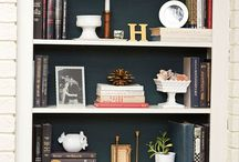 Shelves and Vignettes / by Jill Hinson