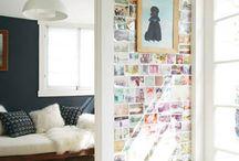 Walls / Ideas to make walls interesting / by Lauren Biard