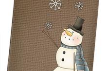 snowmen / by Debbie Tocci