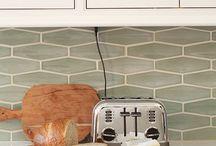 my  new kitchen~~ideas / by Melinda Kolivosky