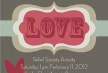 Releif Society meeting ideas / by Karalee Larson