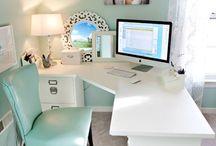 Craft room / office / by Rachel Frakes
