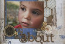 Scrapbook pages 1 / by Bonnie Hounshell
