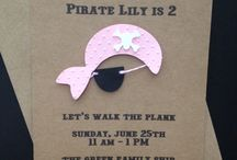 Chance's 3rd bday / Pirate party / by Terri Piercey Bourne