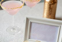 Pink and Gold Sparkle Party  / by Styling the Moment
