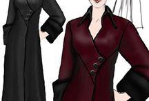 Fashion ~ coats, jackets & wraps / by Jane