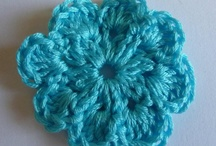 crochet - flowers & shapes / by andy henry