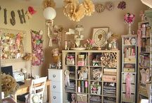 Fabulous Craft Rooms / by SewScrumptious