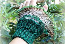 crochet gloves / by Joy Allen