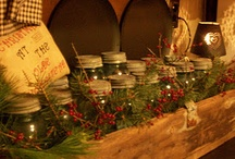Rustic Christmas / I love rustic, country Christmas decorations and ideas. / by Carol Boyd