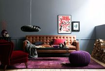 Leather Sofas / by Kimber Watson