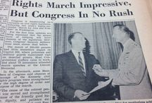 March on Washington - A Look Back / We went into the CQ Roll Call archives to look back at our 1963 coverage of the March on Washington for Jobs and Freedom. Here's some of what we found. #mow50  / by Roll Call - The Source for News on Capitol Hill