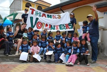 Volunteer in Ecuador / International Volunteer HQ (IVHQ) has a wide range of  highly affordable volunteering opportunities available teaching English, working with street children, school support programs and summer projects in the Ecuadorian city of Quito and suburban Quito. / by International Volunteer HQ