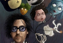 Tim Burton / by Emma Tyrrell
