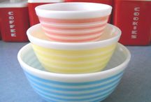 """Pyrex, Fire King, Glasbake or Hazel Atlas / A collection of vintage kitchenware to admire, collect or make you long for..... / by Cheryl Burns Stephens """"Junkin' Monkey"""""""