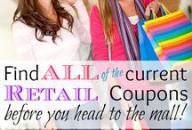 Coupons / Save - Shopping / by Tina Serafini