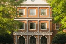 Regent University Campus / Regent University sits on 70 acres of immaculately maintained grounds that complement the Georgian architecture of its buildings which are historic in design yet incorporate the latest educational technology. / by Regent University School of Law