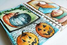 ART: Journals & Sketchbooks 1 / by Nan Edwards