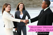 Manners & Etiquette / All Manners and Etiquette posts written by Karla Davis of The Classy Woman blog.  / by The Classy Woman