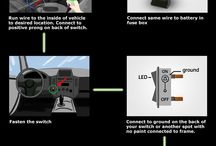 Infographics / Infographics including tutorials, installation guides, buyer's guides, and more. / by iJDMTOY.com Car LED