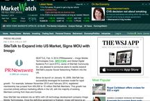 SiteTalk to Expand into US Market / SiteTalk to Expand into US Market, Signs MOU with Imogo / by Erwin Büttner