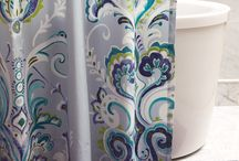 Bedroom & Bath Essentials / These beautifully detailed shower curtains and bedding marry our spirited palette with elegant design and coordinate easily with many of our rugs. / by Company C