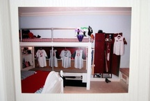 Boys room redo w baseball touches  / MY BOYS ROOM IDEAS / by Meredith Womack