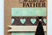fathers day cards / by Sheila Dameron