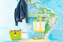 Frugal Decor from Maps and Globes / by Frugal Decorating Diva