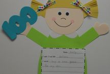 Kindergarten 100th day of school activities  / by Megan Skogmo