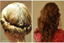 hair and nails / by Stephanie Watson