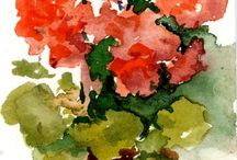 Watercolor / Still life / by Sandy England