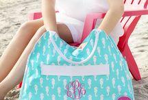 Monogrammed Bags & Purses / by Cordial Lee